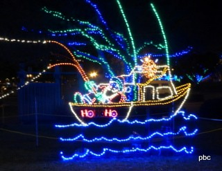 Boat of lights