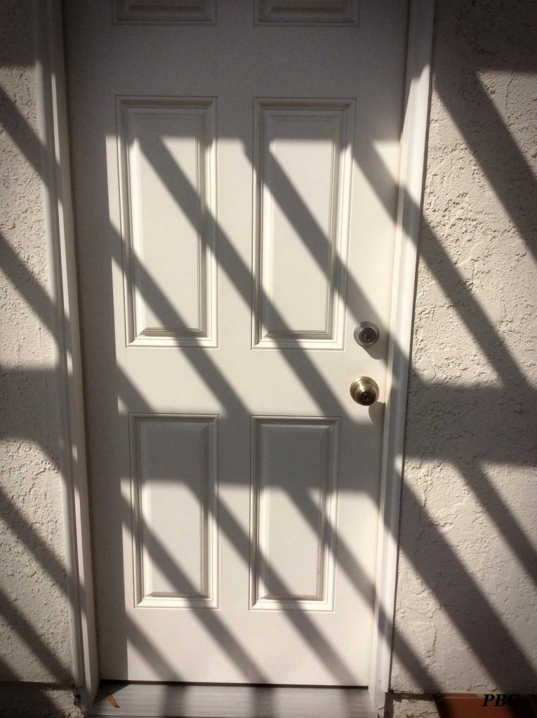 shadow-on-door